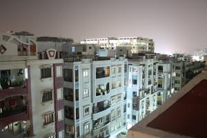 Kondapur bei Nacht