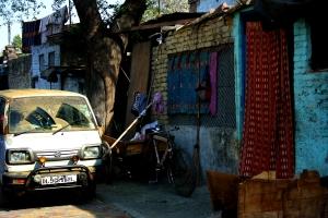 Straße in Delhi