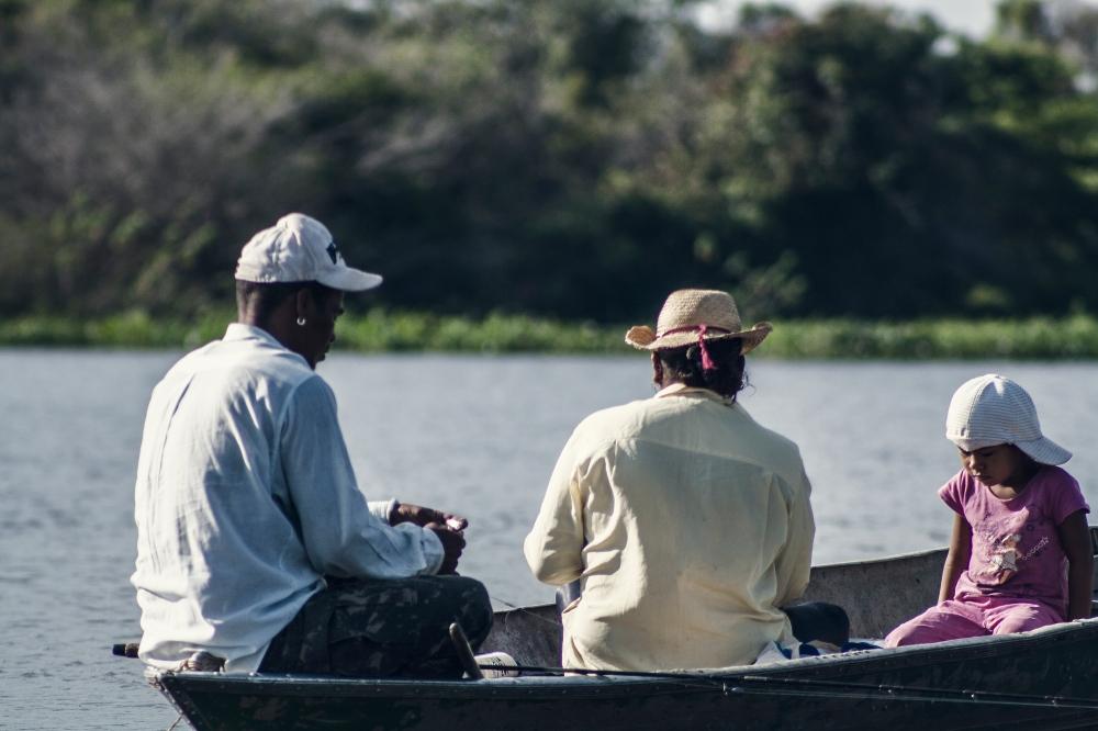 Angler im Pantanal