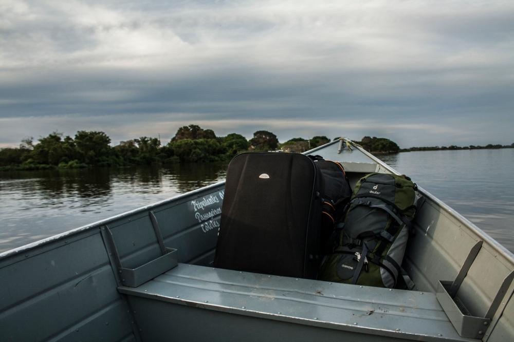 Überfahrt Pantanal